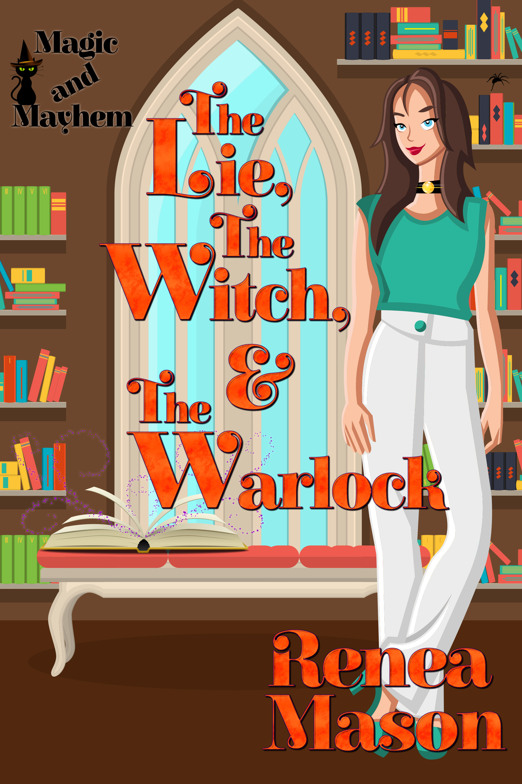 The Lie, the Witch and the Warlock Cover Art