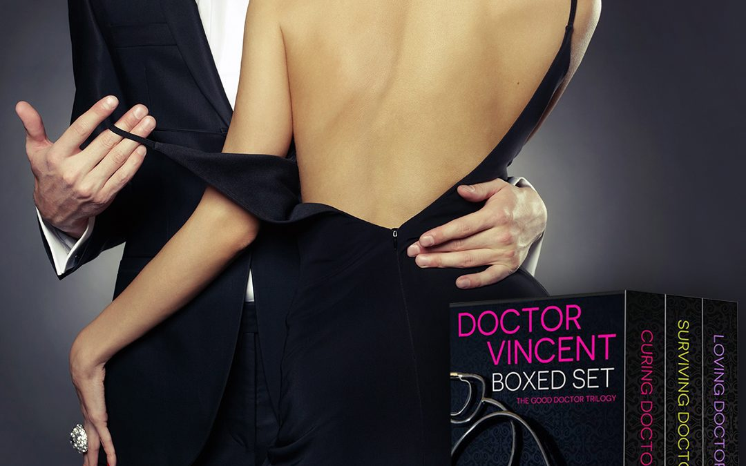 Doctor Vincent Boxed Set #NowAvailable #eroticromance #eartg #asmsg
