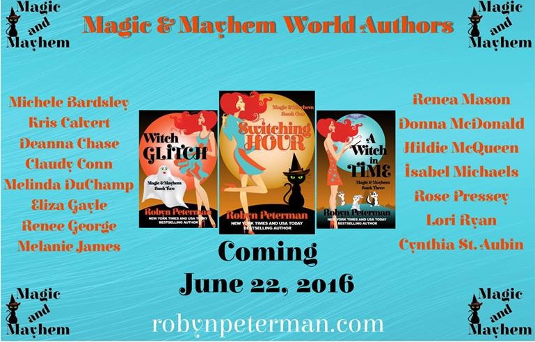 Announcement – I'm participating in the Magic and Mayhem Kindle World by Robyn Peterman