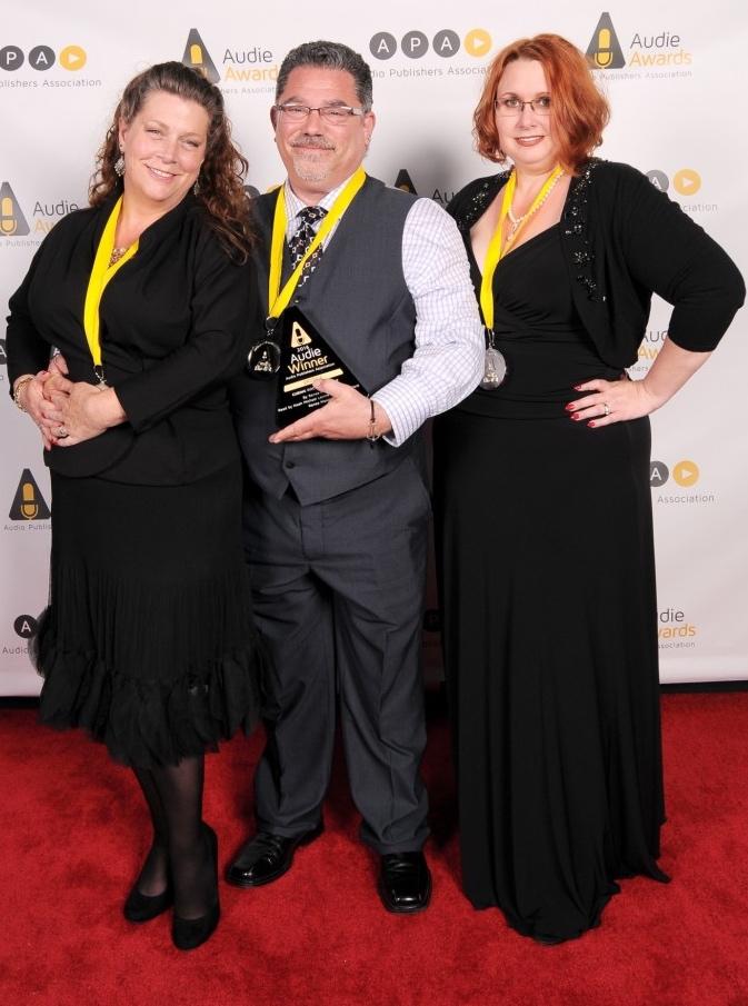 Audie Award 2016 Renea Mason Noah Michael Levine Erin deWard