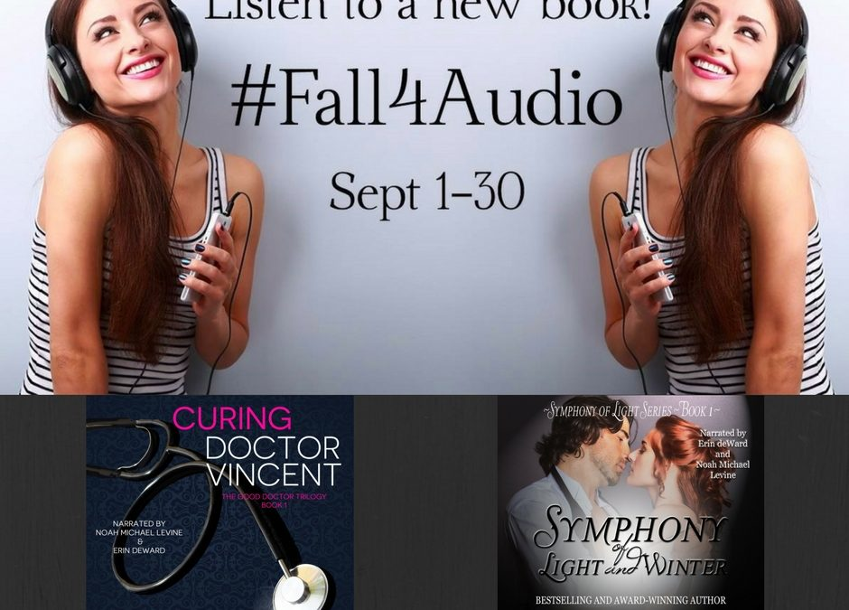 #Fall4Audio Giveaways! #bookboost