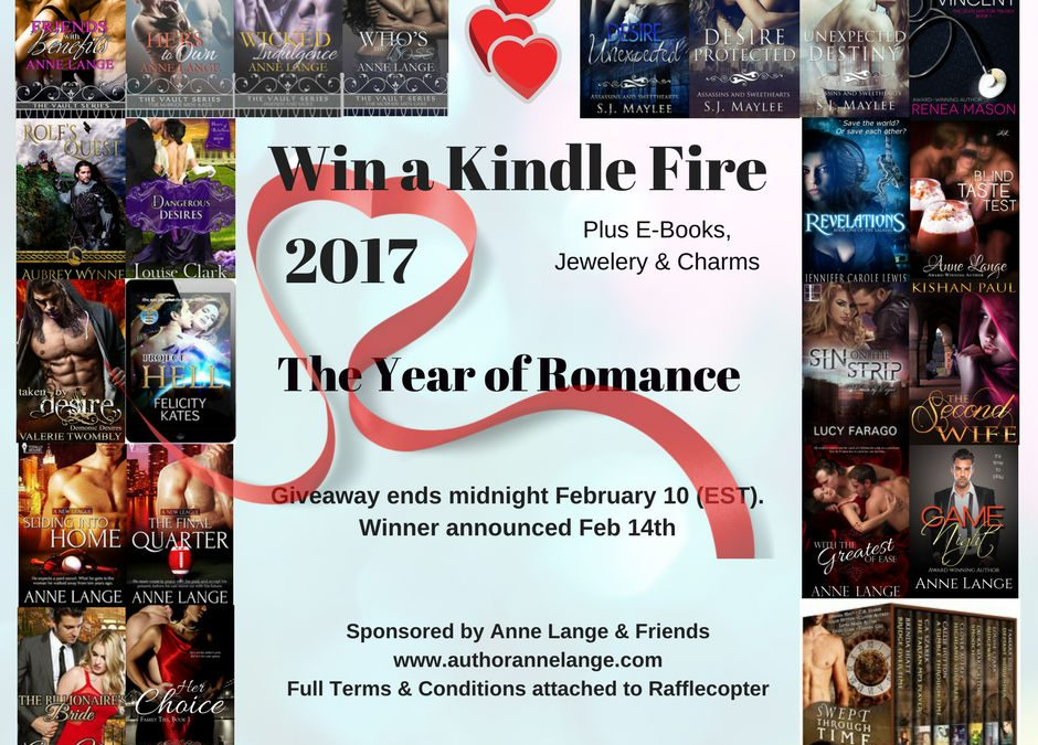 2017 The Year of Romance: Kindle Fire & more Giveaway