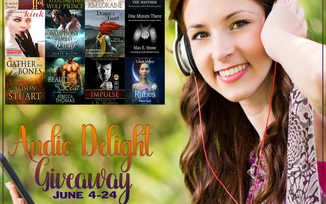 Celebrate #AudiobookMonth with the #AudioDelight #Giveaway