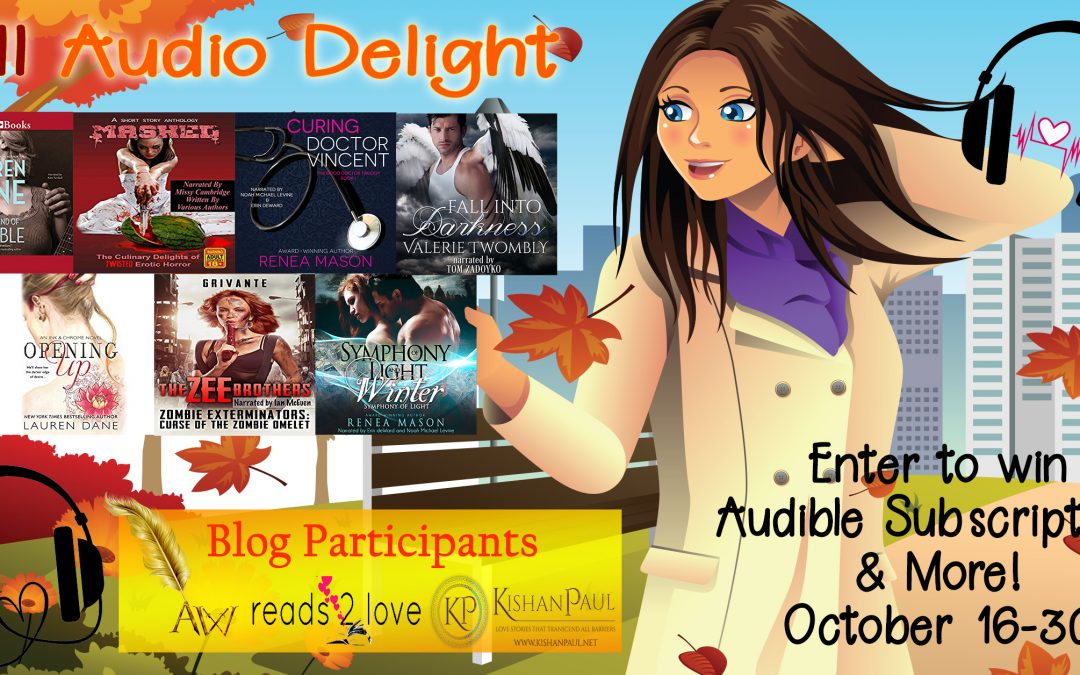 #FallAudioDelight Enter to win @Audible Memberships and more Ends 10/30